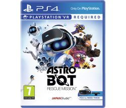 PS4 Astro Bot Rescue Mission VR Best Price, Cheapest Prices