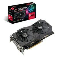 ASUS Radeon RX 570 8GB ROG STRIX OC GAMING, 14nm Polaris, 2048 Streams, 1300MHz Boost, 7000MHz GDDR5, DP/HDMI/DVI-D Best Price, Cheapest Prices