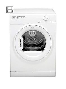 Hotpoint Aquarius Tvfm70Bgp 7Kg Load Vented Tumble Dryer - White Best Price, Cheapest Prices