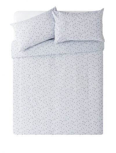 Argos Home Single Heart Bedding Set - Double Best Price, Cheapest Prices