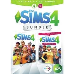 The Sims 4 & Get Famous Expansion PC Bundle Best Price, Cheapest Prices