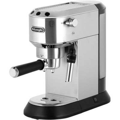 De'Longhi Dedica Traditional Pump EC685.M Espresso Coffee Machine - Silver Best Price, Cheapest Prices