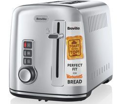 BREVILLE The Perfect Fit for Warburtons VTT570 2-Slice Toaster - Stainless Steel Best Price, Cheapest Prices