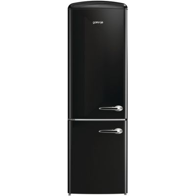 Gorenje Retro Collection ORK193BK-L 70/30 Fridge Freezer - Black - A+++ Rated Best Price, Cheapest Prices