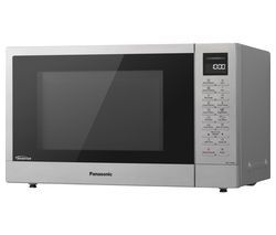 PANASONIC NN-ST48KSBPQ Solo Microwave - Stainless Steel Best Price, Cheapest Prices