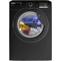 Hoover HLV8DGB Link 8kg Freestanding Vented Sensor Tumble Dryer With One Touch - Black Best Price, Cheapest Prices