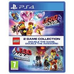 The LEGO Movie 1 & 2 Double Pack PS4 Game Best Price, Cheapest Prices