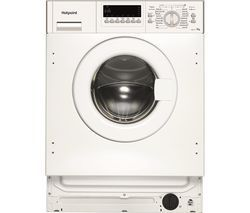 HOTPOINT HWMG 743 Integrated 7 kg 1400 Spin Washing Machine Best Price, Cheapest Prices