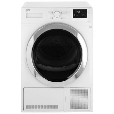 Beko DCR93161W 9Kg Condenser Tumble Dryer - White - B Rated Best Price, Cheapest Prices
