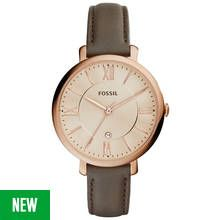 Fossil Ladies' Jacqueline ES3707 Rose Gold Tone Watch Best Price, Cheapest Prices