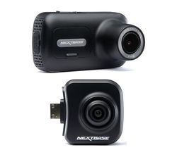 NEXTBASE 322GW Full HD Dash Cam & NBDVRS2RFCZ Full HD Rear View Dash Cam Bundle - Black Best Price, Cheapest Prices