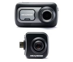 NEXTBASE 522GW Quad HD Dash Cam with Amazon Alexa & Cabin View Quad HD Dash Cam Bundle Best Price, Cheapest Prices