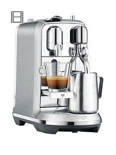 Nespresso The Creatista Plus Coffee Machine By Sage - Stainless Steel Best Price, Cheapest Prices