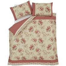 Catherine Lansfield Kashmir Cotton Duvet Cover Set - Double Best Price, Cheapest Prices