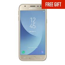 SIM Free Samsung Galaxy J3 2017 16GB Mobile Phone - Gold Best Price, Cheapest Prices