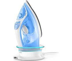 PHILIPS EasySpeed Advanced GC3672/26 Cordless Steam Iron - White & Blue Best Price, Cheapest Prices