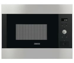 ZANUSSI ZBM26642XA Built-in Solo Microwave - Stainless Steel Best Price, Cheapest Prices