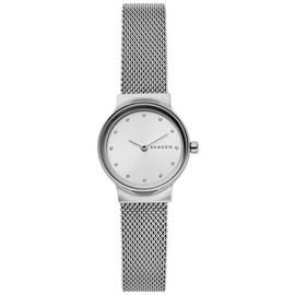 Skagen Silver Dial Ladies Stainless Steel Watch Best Price, Cheapest Prices