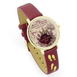 Harry Potter Hogwarts Castle Brown Leather Strap Watch Best Price, Cheapest Prices