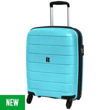 IT Luggage Asteroid 4 Wheel Hard Cabin Case