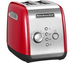 KITCHENAID 5KMT2116BER 2-Slice Toaster - Red Best Price, Cheapest Prices