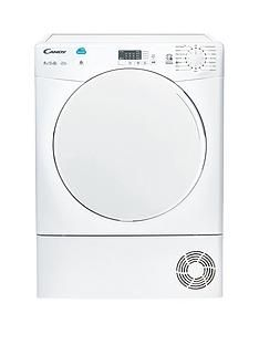 Candy CSC9LF 9kg Load Condenser Sensor Tumble Dryer with Smart Touch - White Best Price, Cheapest Prices