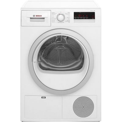 Bosch Serie 4 WTN85200GB 7Kg Condenser Tumble Dryer - White - B Rated Best Price, Cheapest Prices