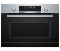 BOSCH CPA565GS0B Built-in Combination Microwave - Stainless Steel Best Price, Cheapest Prices