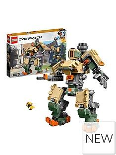 LEGO Overwatch 75974 Bastion and Ganymede Figure Best Price, Cheapest Prices