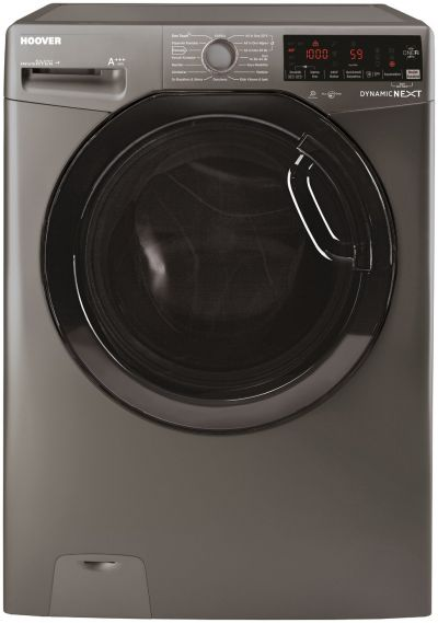 Hoover DWOAD610HF3G 10KG 1600 Spin Washing Machine -Graphite Best Price, Cheapest Prices