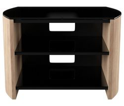 ALPHASON Finewoods FW750 750 mm TV Stand - Light Oak Best Price, Cheapest Prices