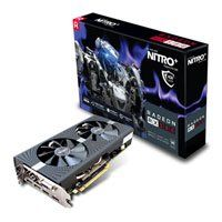 4GB Sapphire Radeon RX 580 NITRO+, 14nm Polaris, 2304 Streams, 1411MHz GPU, 7000MHz GDDR5, 2xDP/2xHDMI/DVI-D Best Price, Cheapest Prices