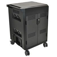 Ergotron 24-249-085 Power Shuttle Laptop Management Cart for 20 Devices Best Price, Cheapest Prices