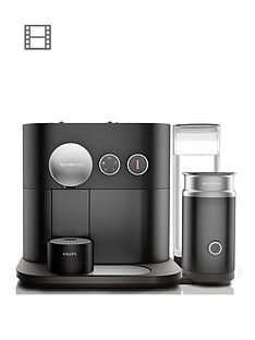 Nespresso XN601840 Expert Coffee and Milk Machine by Krups - Black Best Price, Cheapest Prices