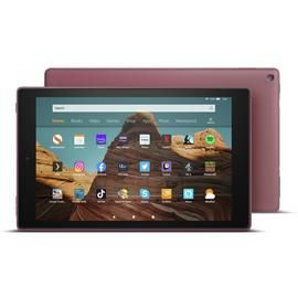 Amazon Fire 10 HD 10.1 Inch 32GB Tablet - Plum Best Price, Cheapest Prices