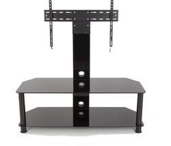 AVF SDCL1140BB 1140 mm TV Stand with Bracket - Black Best Price, Cheapest Prices