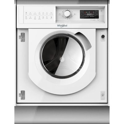 Whirlpool BIWMWG71484UK Integrated 7Kg Washing Machine with 1400 rpm - A+++ Rated Best Price, Cheapest Prices
