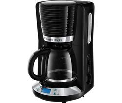 RUSSELL HOBBS Inspire 24391 Filter Coffee Maker - Black Best Price, Cheapest Prices