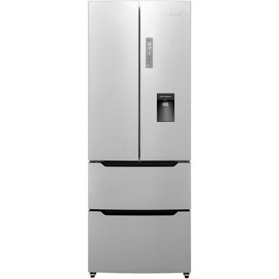 Hisense RF528N4WC1 American Fridge Freezer - Stainless Steel Effect - A+ Rated Best Price, Cheapest Prices