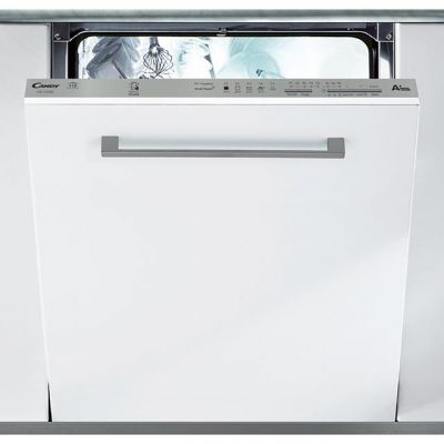 Candy CDI1LS38S Fully Integrated Standard Dishwasher - Silver Control Panel with Fixed Door Fixing Kit - A+ Rated Best Price, Cheapest Prices