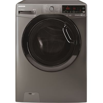 Hoover Dynamic Next DWOAD610AHF7G Wifi Connected 10Kg Washing Machine with 1600 rpm - Graphite - A+++ Rated Best Price, Cheapest Prices