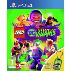 LEGO DC Supervillains PS4 Game with Dogtag Best Price, Cheapest Prices