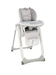 Chicco Chicco Polly 2 start Highchair- Happy Silver Best Price, Cheapest Prices
