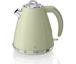 SWAN Retro SK19020GN Jug Kettle - Green Best Price, Cheapest Prices
