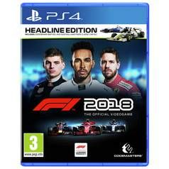 F1 2018 PS4 Game Best Price, Cheapest Prices