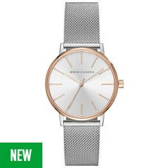 Armani Exchange AX5537 Ladies' Stainless Steel Watch Best Price, Cheapest Prices