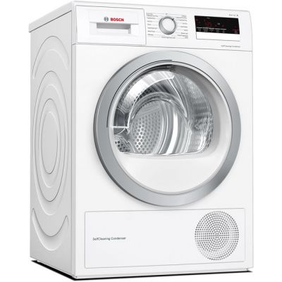 Bosch Serie 4 WTW85231GB 8Kg Heat Pump Tumble Dryer - White - A++ Rated Best Price, Cheapest Prices