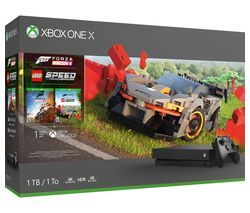 MICROSOFT Xbox One X with Forza Horizon 4 & LEGO Speed Champions Best Price, Cheapest Prices