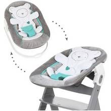 Hauck Alpha Bouncer 2 in 1 - Hearts Grey Best Price, Cheapest Prices