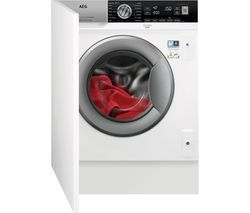 AEG Series 8 L7FC8432BI Integrated 8 kg 1400 Spin Washing Machine Best Price, Cheapest Prices